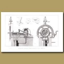 Bishop's Rotary Steam Engine Or Disc Engine