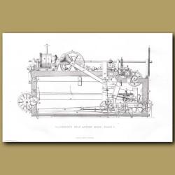 Cotton Machine. Macindoe's Self Acting Mule. Plate 1