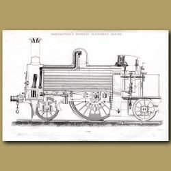 Train Engine. Ramsbottom's Express Passenger Engine