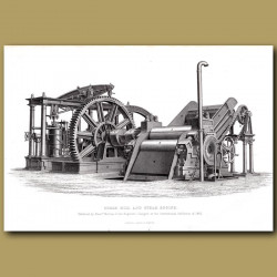 Sugar Mill And Steam Engines