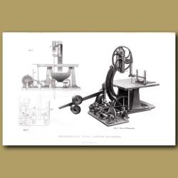 Greenwood's Wood Sawing Machine