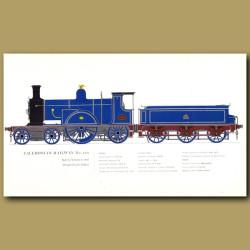 Caledonian Railway No.123 Train