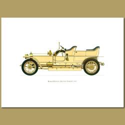 Rolls Royce Silver Ghost 1907