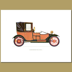 Lanchester 1908 20 Hp