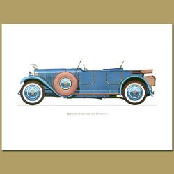 Hispano Suiza 1926 6b Phaeton