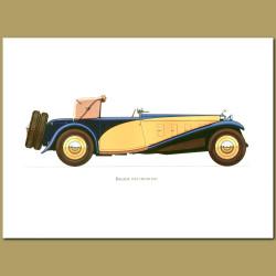 Delage 1933 D8 Ss100