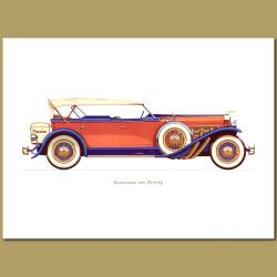 Dusenberg 1929 Type Sj