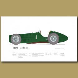 BRM 16 cylinder