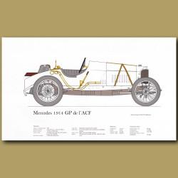 Mercedes 1914 GP de l'Ace