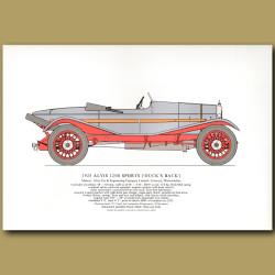 1925 Alvis 12/50 ('Duck's Back')