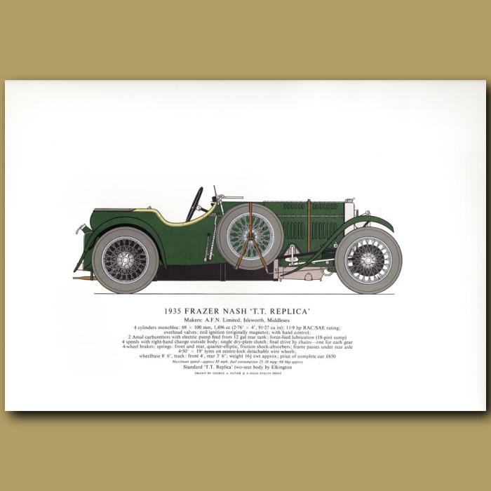 1935 Frazer Nash 'T.T.Replica'