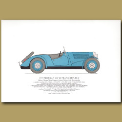 1937 Morgan 4/4 'Le Mans Replica'