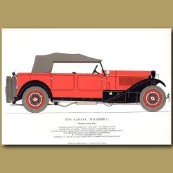 1930 Lancia 'Dilambda'