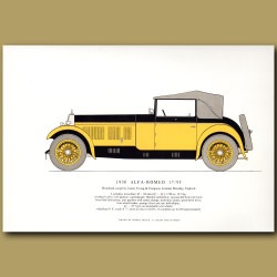 1930 Alfa-Romeo 17/95
