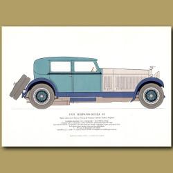 1928 Hispano-Suiza 45