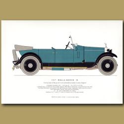1927 Rolls-Royce 20