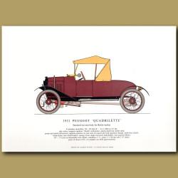 1922 Peugeot 'Quadrilette'