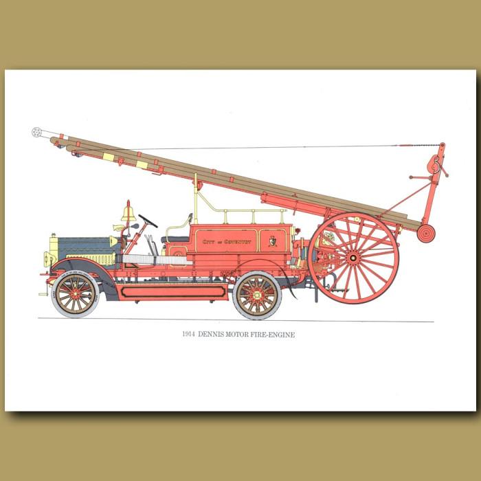 1914 Dennis Motor Fire-Engine