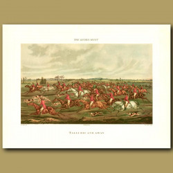 Tally-Ho! And Away By Henry Alken