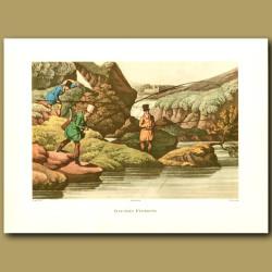 Salmon Fishing By Henry Alken