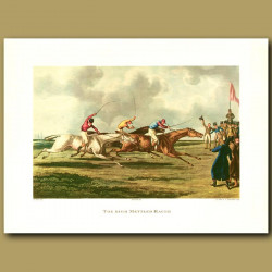 Horse Racing. The High Mettled Racer By Henry Alken