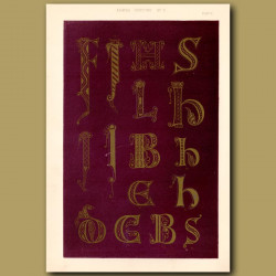 Eighth Century No. 5. Carolinean Letters
