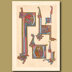 Not For Sale. Thirteenth Century No. 3. Letters From French Image De Mond