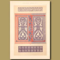 Fourteenth Century No. 7. Decorations
