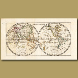 Map Of The World (folding)