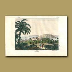 View of Ilheos, Brazil