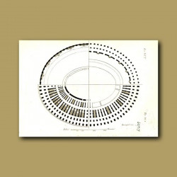 Plan of the Colosseum Theatre