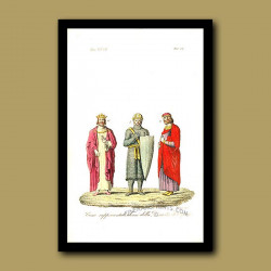 Representatives of the Royal Capiti Dynasty - descended from Hugo Capet a.d. 987 to a.d 996