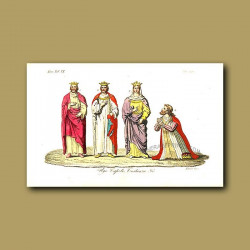 Royal Capiti Dynasty - descended from Hugh Capet a.d. 987 to a.d. 996