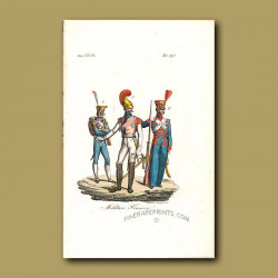 French soldiers a.d 1804