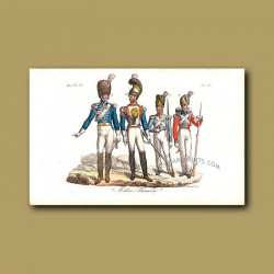 French soldiers a.d 1810