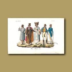Medical doctors a.d 1820