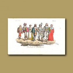 Cardinals of Richelieu a.d 1820