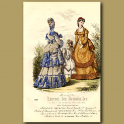 French Fashion: Scarves And Ribbons From Galerie De Choiseul (II)