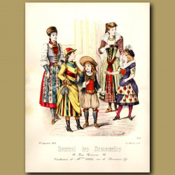 French Fashion: Costumes Of French Children