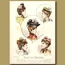 French Fashion: Ladies Hats