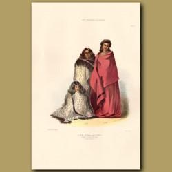 Women Of The Nga-Ti-Toa Tribe