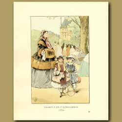 Children In The Tuileries Gardens