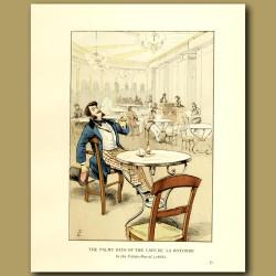 The Balmy Days Of The Cafe De La Rotonde
