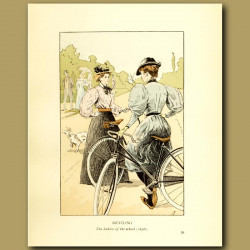 Bicycling. The Ladies Of The Wheel