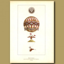 Model of the balloon made for Napoleon's coronation in 1804