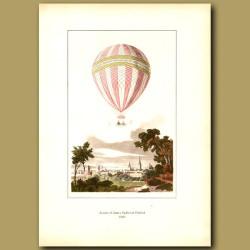 Ascent of James Sadler at Oxford in 1810