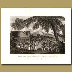 Tahiti: Interview Between Captain Wallis And Oberea Queen Of Otaheite