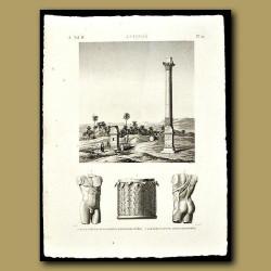 View of Alexandria's Column