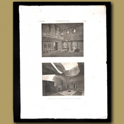 Interior views of a house in Alexandria