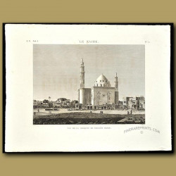 View of the Mosque of Sultan Hasan